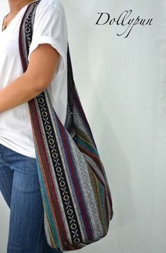 Nepali Hippie Hobo Boho Sling Messenger Bag Cross body PNP5115 ...