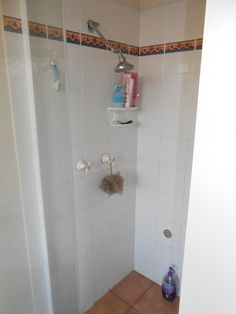 Before with the ensuite shower with a standard shower screen Shower Screen, Bathroom Renovations, Bathtub, Wall, Home, Bath Shower Screens, Standing Bath, Bathtubs, Ad Home