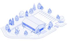 Image 18 of 18 from gallery of La Taule - Trianing Center / Architecture Microclimat. Axonometric