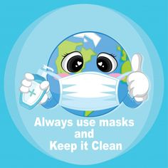 Always use masks and keep it clean advic. Air Pollution Poster, Funny Emoji Faces, Dog Emoji, Emotion Faces, Sneeze Guard, Emoji Love, Preschool Learning Activities, Happy Earth, Lowbrow Art