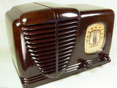 Incredible 1939 Pre War Motorola Marbled Bakelite Tube Radio Hard to Find | eBay