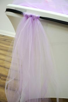 Create your Own No-Sew Tulle Table Skirt! Create your Own No-Sew Tulle Table Skirt! Tulle Table Runner, Tulle Table Skirt, Table Runners, Tulle Skirts, Tulle Tutu, Tulle Decorations, Diy Baby Shower Decorations, Baby Girl Birthday Decorations, Diy Shower