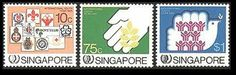 Singapore Stamps - 1985 International Youth Year - MNH, VF by Great Wall Bookstore. $3.36
