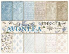 Winter in Avonlea - zestaw papierów/ papers set :: UHK Gallery