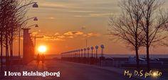 Sunset in Helsingborg, Sweden