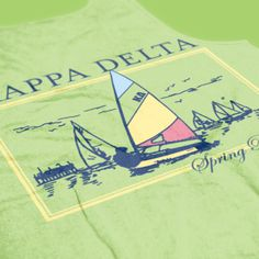 Kappa Delta - KD - Spring Break Design - Sorority shirts - Sorority tanks - Check out b-unlimited.com!
