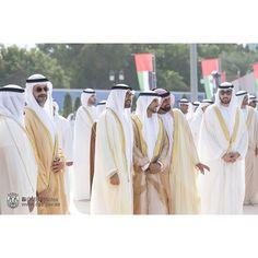 12/2/14 UAE 43rd National Day Flag-raising ceremony in Abu Dhabi PHOTO: mbzphtoos