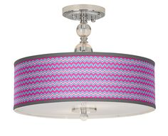 Custom Pattern Art Shade Lighting | LampsPlus.com