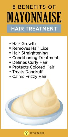 Hair care can be tricky. With so many options in hair care treatments and the availability of so many different commercial hair masks, it is hard to decide on what we should put in our hair. While commercial products are easily available and get the job done, with a little bit of research and a couple of natural ingredients, you can get the same results at a fraction of the price. Mayonnaise is one such ingredient that is commonly used in natural hair care treatments.