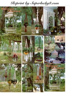 Vintage Macrame Unlimited in PDF instant by Superlucky8com on Etsy