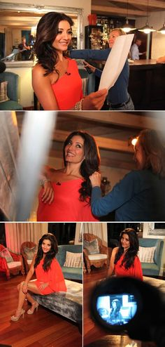 Top Billing presenter Jeannie D wearing a one shoulder dress from Blue Bay Boutique. Dress Images, Coat Dress, One Shoulder, Shoulder Dress, Presents, Classy, Red, How To Wear, Boutique