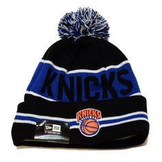 New York Knicks The Coach Cuffed Pom Knit Cap / Beanie - http://weheartnyknicks.com/ny-knicks-fan-shop/new-york-knicks-the-coach-cuffed-pom-knit-cap-beanie