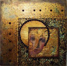 Декоративное панно из серии 'Сны...' в интернет-магазине на Ярмарке Мастеров. Декоративное панно,-смешанная техника. Автор Наталья Полех