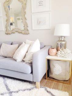 Studio Living - Oh My Dear's Light Bright Living Room
