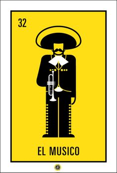 ISOTYPE—L; Loteria Deck Design/Poster Series. by Grey Jay, via Behance