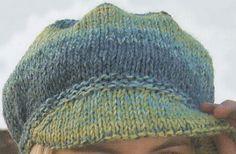 Realizza in maglia il tuo cappello di lana con visiera, moderno, sportivo e… facilissimo con la spiegazione passo passo!
