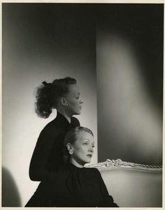 Horst P. Horst, Marlene Dietrich and Maria Riva, 1947 on ArtStack #horst-p-horst #art
