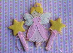 Birthday Fairy Cookie | by Three Honeybees