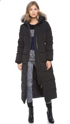 Canada Goose Mystique Parka...I need something this long in Boston!! :-/