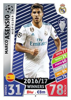 1 sac Topps Ligue des Champions 2016//17 Stickers