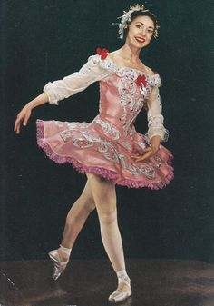 Ballet Photo Margot Fonteyn as Aurora Sleeping Beauty postcard | eBay