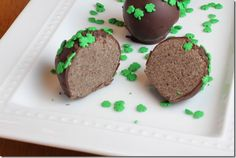 Girl Scout Thin Mint Truffles
