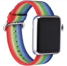 Nylon Replacement Band for Apple Watch Series 1, 2; Size 38mm