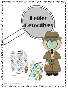 find a letter letter detective by robinson tpt 1000 images about letters on letter tracing 335