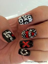 Spotlight one finger (but maybe not your middle!) with a Nail Rock Designer Nail Wrap, $10 for 16. Tame the flames by keeping the rest solid.