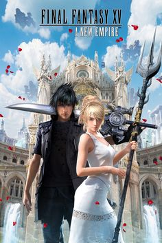 Noctis and Luna can help conquer your enemies! Play Final Fantasy XV: A New Empire now!