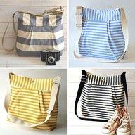 DIY Diaper bags! SO cute!