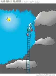Si no sale el Sol, siempre puedes pintártelo!!