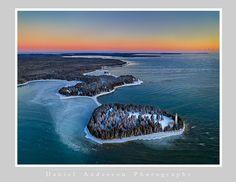 Cana Island before sunrise, Feb. 2021 - Daniel Anderson Photography Before Sunrise, Door County, Whale, Island, Photography, Animals, Outdoor, Outdoors, Whales