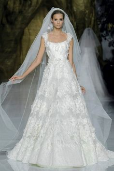 First Look! Beautiful New Wedding Dresses by Elie Saab | OneWed