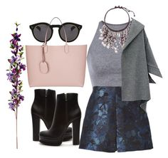 """""""#239"""" by vilte-m ❤ liked on Polyvore featuring NOVICA, Valentino, Illesteva, Forever 21 and Gucci"""