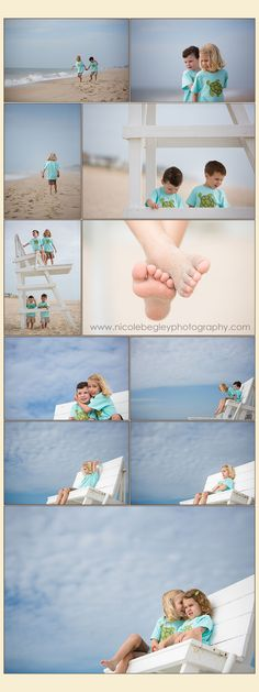 Beach photography - Lifestyle Photography posing with children