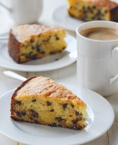 Easy Desserts, Delicious Desserts, Dessert Recipes, Chef Recipes, Baking Recipes, Baked By Melissa, Brunch Cake, Ricotta Cake, Mini Chocolate Chips