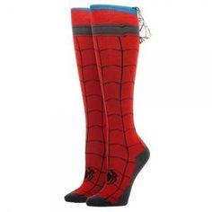 Spiderman Knee High Cape Sock