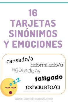 Sinonimos - Synonyms in Spanish Spanish Courses, Spanish Teaching Resources, Grammar And Vocabulary, Hands On Activities, Spanish Language, Second Grade, Preschool, Student, Grande