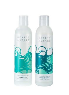 Hearts and Stars is professional grade happiness for your hair.  With no yucky parabens or sulfates, it's perfect for all hair types from processed to plain Jane.  Fortified with hemp oil and botanical extracts, you get extra protein, moisture, and party-perfect locks.  Your hair and scalp health will soar from wannabe to wicked-awesome.