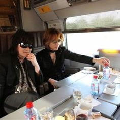 Express Train lunch with Yoshiki Pete Burns, Good Jokes, Japan, Visual Kei, Honey, Lunch, Train, Artists, Music