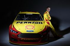 No. 22 Shell-Pennzoil Ford Fusion Photos! - Joey Logano