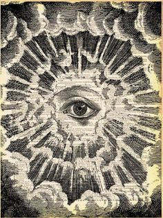 ☮ All Seeing EYE ~ psychedelic, hippie art, revolution OBEY style, Masonic, street graffiti, illustration and design. ☮