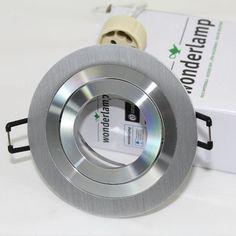 foco empotrable classic redondo aluminio wonderlamp iluminacin led empotrable para pasillo saln