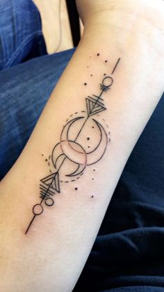 Pisces Constellation Tattoo