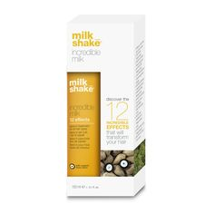milk_shake incredible milk: the 12 incredible effects that will transform your #hair! #beauty