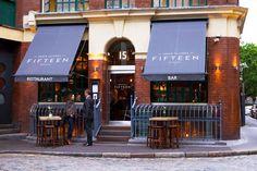 Jamie Oliver's Fifteen restaurant in Islington, London