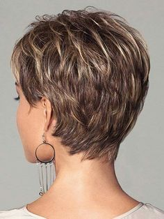 Stylist back view short pixie haircut hairstyle ideas 59