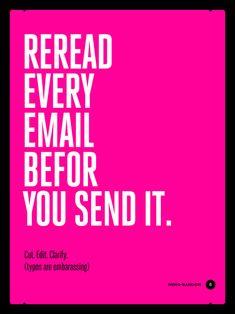 Clever Workplace Etiquette Posters - Design - ShortList Magazine