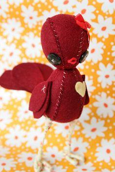 loads of cute handmade stuffies